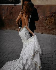 Simple Backless Sexy Cheap Mermaid Wedding Dresses Online, Cheap Bridal Dresses, - New ideas Lace Beach Wedding Dress, Top Wedding Dresses, Backless Wedding, Bridal Dresses, Lace Wedding, Low Back Wedding Gowns, Backless Mermaid Wedding Dresses, Boat Wedding, Outdoor Wedding Dress
