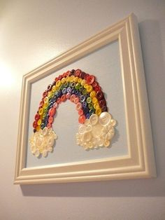 Would be a good art project for a child to help with - then hang in their room or the play room