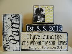 Personalized+wedding+gift/decoration+quote+chevron+by+FayesAttic11,+$29.50