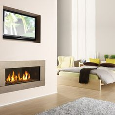 Regency Horizon HZ42E modern gas fireplace