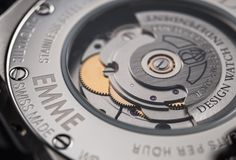 DWISS emme SIVER, contemporary luxury swiss watch manufacture