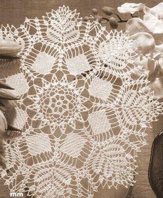 World crochet: Napkin 127