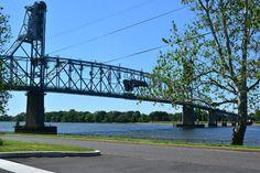 Burlington-Bristol Bridge, as seen from Doane Academy in Burlington, NJ.