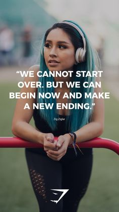 """""""We cannot start over. But we can begin now and make a new ending"""" – Zig Ziglar…. """"We cannot start over. But we can begin now and make a new ending"""" – Zig Ziglar. ♻– Visit art motivation shop HERE –♻ Sport Motivation, Staff Motivation, Fitness Motivation Quotes, Health Motivation, Workout Motivation, Fitness Quotes For Women, Positive Motivation, Fitness Workouts, Fun Workouts"""