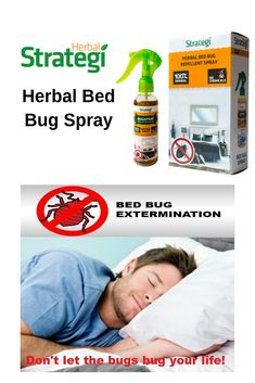 Herbal Strategi Bed Bug Spray: Get rid of bed bugs (Khatmal Marne Ki Dawa) without the use of chemicals. Bed Bug Control, Pest Control, Household Cleaning Tips, Cleaning Hacks, Bed Bug Spray, Rid Of Bed Bugs, Bed Bugs Treatment, Bed Bug Bites, Spray Can