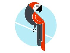 Work in progress design for a friend for our Toucan screen print. Feedback welcome...