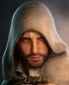 by Sebastien Camrrubi Assassian Creed, All Assassin's Creed, Grimm, Arno Dorian, Dead King, Assassins Creed Unity, King Art, Leap Of Faith, Fantasy Warrior