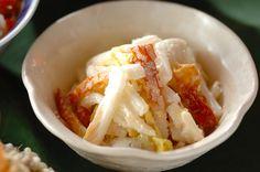 白菜のタラコマヨ和えのレシピ・作り方 - 簡単プロの料理レシピ | E・レシピ