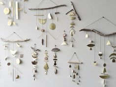 A chorus of chimes made from found objects and crafted metals