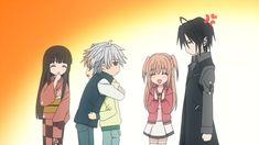 Uragiri wa Boku no Namae wo Shitteiru, Giou Yuki, Murasame Tsukumo, Luka Crosszeria, Kureha Aya, Murasame Touko, Uraboku