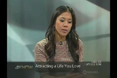 Here is a 15 minute clip of a show I was on talking about Attracting a Life You Love using Law of Attraction - Richmond Hill - Rogers TV