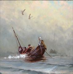 """""""Miracle of the Fishermen"""" by Brian Jekel"""