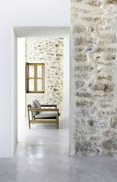 Plaster rock walls