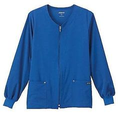 Tops 105440: Classic Fit Collection By Jockey® Women S V-Neck Zip Front Scrub Jacket -> BUY IT NOW ONLY: $32.98 on eBay!