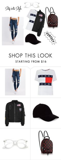 """""""Step into Style"""" by imaldinak ❤ liked on Polyvore featuring Cello and Tommy Hilfiger"""