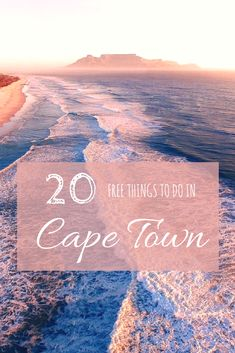 20 Free Things to do in Cape Town