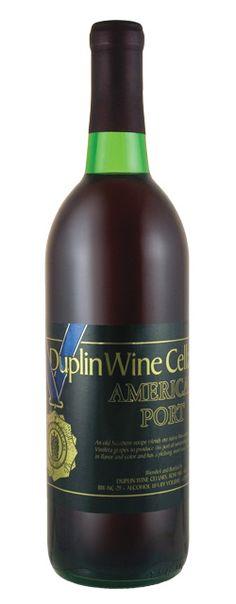American Port | Duplin Winery