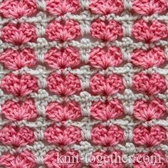 Multicolor Crochet Stitch Pattern for Children - charming colored pattern is perfect for baby things. We can also crochet this pattern in round, that allows use it for crocheting hats. This pattern is double-sided. Photo, detailed description and crochet Crochet Motifs, Crochet Stitches Patterns, Crochet Chart, Crochet Afghans, Knitting Stitches, Free Crochet, Stitch Patterns, Knitting Patterns, Crochet Men