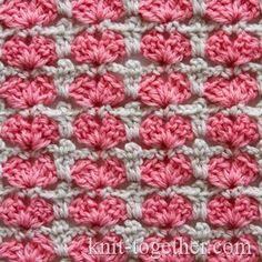 Multicolor Crochet Stitch Pattern for Children