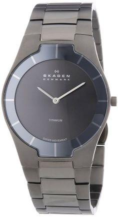 +Favorit -kein Solar, kein Funk  Skagen Men's 585XLTMXM Swiss Titanium Grey Watch Skagen http://www.amazon.com/dp/B001WAKQOC/ref=cm_sw_r_pi_dp_2Qm3tb1K9ACWHKFD