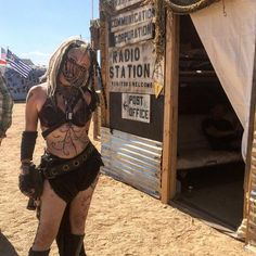 Want to add a spooky touch to your costume? | Mad Max Costume Ideas | POPSUGAR Tech Photo 2