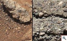 """""""Descubren en Marte restos del cauce de un río"""" Radio Reloj.   Jueves, 27 de Septiembre de 2012"""