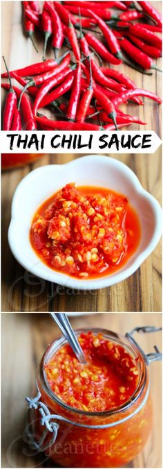 Fresh Thai Chili Garlic Sauce Recipe #hotsauce #spicy #fcpinpartners