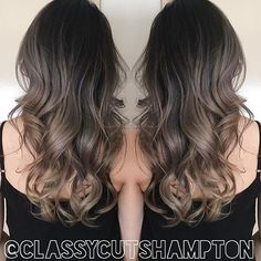 """Gorgeous repost of Deanna's seamless smokey ash blonde! Stunning ️thank you @olaplex @olaplexau for taking great care of her hair! styled using…"""