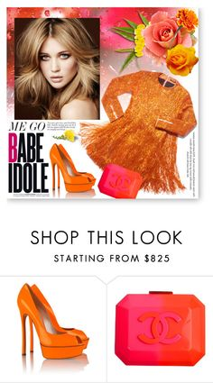 """""""New style"""" by reka97 ❤ liked on Polyvore featuring H&M, Casadei and Chanel"""