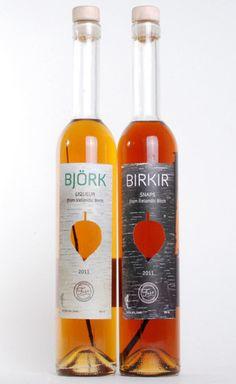 Björk liqueur and Birkir snaps