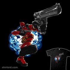 Merc Bizkit | Shirtoid #comic #comics #deadpool #film #limpbizkit #manoystee #marvelcomics #movies #wadewilson