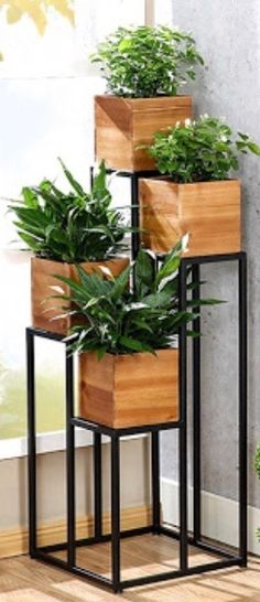 Plants interior ideas herbs garden ideas - New Deko Sites Decor, Home And Garden, Indoor Plants, Home Deco, Plant Stand, Plant Decor, Cool Plants, Corner Plant, House Plants Decor