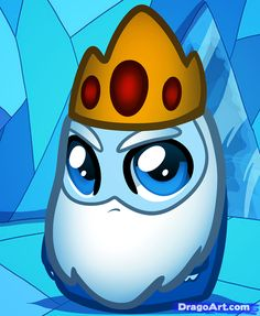 How to Draw Chibi Ice King, Ice King from Adventure Time, Step by ...