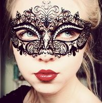 Lace mask Love this for a masked ball!!
