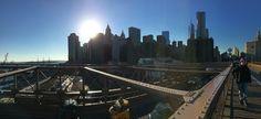 Môj obľúbený Brooklyn-ský most a jeho výhľad