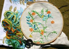Embroidery by @Jess Liu Kovach
