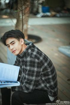 Black Hair And Brown Eyes: Character Inspiration Korean Boys Ulzzang, Ulzzang Boy, Sehun, F4 Boys Over Flowers, Korean Men Hairstyle, Song Wei Long, Poses For Men, Cute Korean, Actors