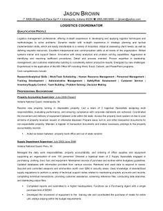 senior logistic management resume logistics coordinator1