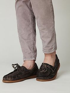 Handwashed Boatshoe by Bed Stu