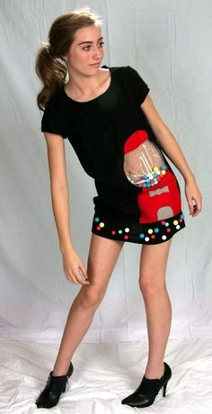 Gumball Dress... if i ever see anybody wearing this i am going to laugh in their face! Sorry i can't help it.