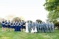 Wedding Photography by Julia Jane Weddings | Inn At Mystic/Harbour House Restaurant | Gira Events & Florals | Dana Bartone & Company | The Cake Lady LLC | DJ Marty & Company | Kevin Joel Video