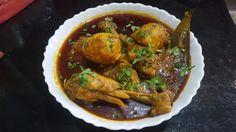 Chicken Dak Bungalow - Cooking Simplified by Rajiv Jindal Mustard Oil, Coriander Powder, Garlic Paste, Marinated Chicken, Garam Masala, Boiled Eggs, Cooker, Recipes, Food
