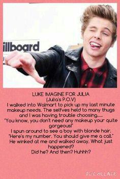 Luke imagine for @JuliaRoseHemmo