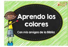 Ideas y reproducibles para aprender los colores a través de la Biblia