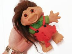 Coupon Sale,See Shop Announcement 5 Inch Dam Troll in Original Outfit - pinned by pin4etsy.com