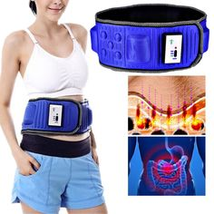 2016 New Popular Slimming Massage Belt Heat Function Vibrating Fat Burning Machine Direct Charge Sauna Weight Loss EU/US/UK Plug