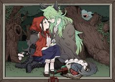 Touko x N - Wolf fell in love with little red riding hood <<< soo freaking cute Games Like Pokemon, Black Pokemon, Pokemon Pins, Pokemon Comics, Cute Pokemon, Red Riding Hood Wolf, Film Serie, Cute Characters, Little Red