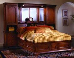 Yahoo! Image Search Results for california king pier wall unit bed with storage