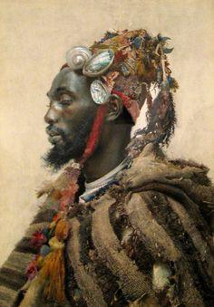 Moor in a Headdress | José Tapiró y Baró | c.1891.  o-toto