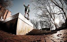 Darcy Bacha. Skateboarding. Visual textures.